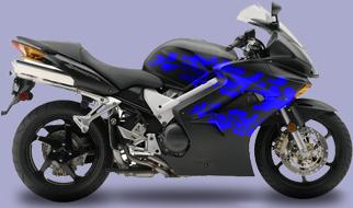 Motorcycle Graphic 2 Splash