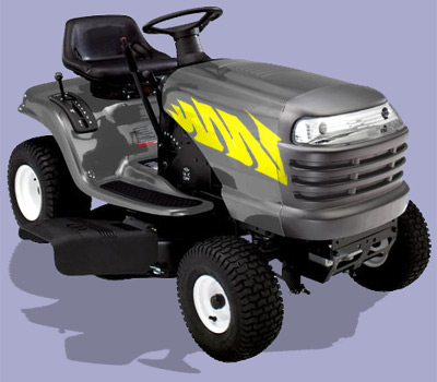 Riding Mower Decal 5 Vinz Stripe