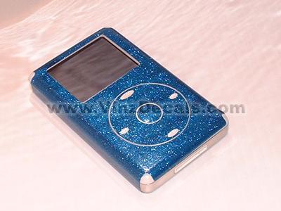 4TH GEN IPOD Skin (Blue Glitter)