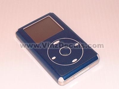 4TH GEN IPOD Skin (Blue Metallic)