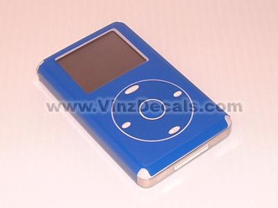 4TH GEN IPOD Skin (Electric Blue)