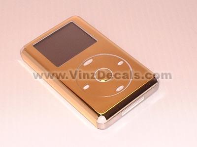 4TH GEN IPOD Skin (Gold Mirror)