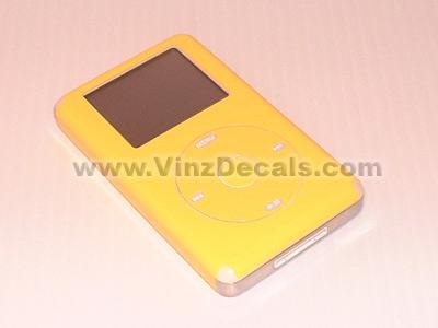 4TH GEN IPOD Skin (Lemon Yellow)
