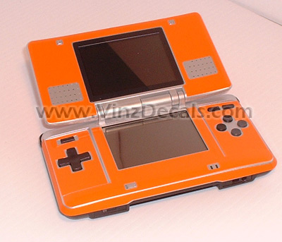 Nintendo DS Skin (Orange)
