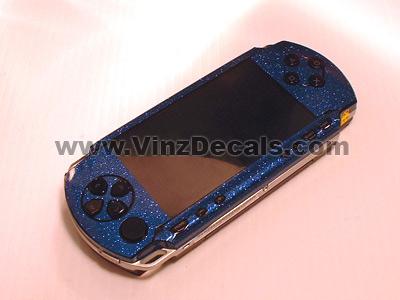 Sony PSP Skin (Blue Glitter)