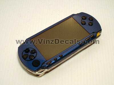 Sony PSP Skin (Blue Metallic)