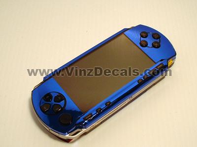 Sony PSP Skin (Blue Mirror)