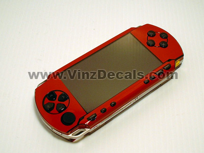 Sony PSP Skin (Burgundy)
