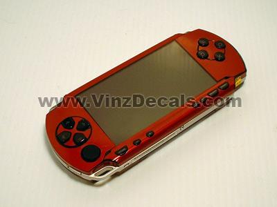 Sony PSP Skin (Burgundy Metallic)