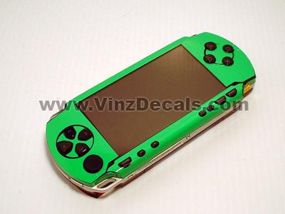 Sony PSP Skin (Fluorescent Green)