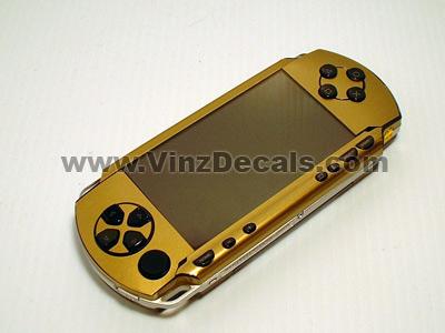Sony PSP Skin (Gold)