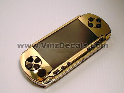 Sony PSP Skin (Gold Mirror)