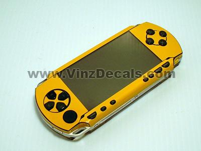 Sony PSP Skin (Golden Yellow)