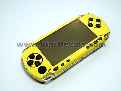 Sony PSP Skin (Lemon Yellow)