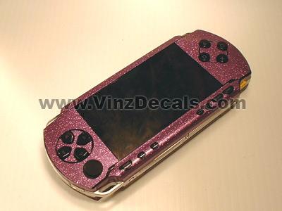 Sony PSP Skin (Purple Glitter)