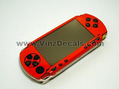 Sony PSP Skin (Red)