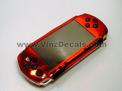 Sony PSP Skin (Red Mirror)
