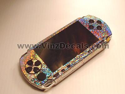 Sony PSP Skin (Silver Dazzle)