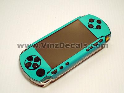 Sony PSP Skin (Teal)