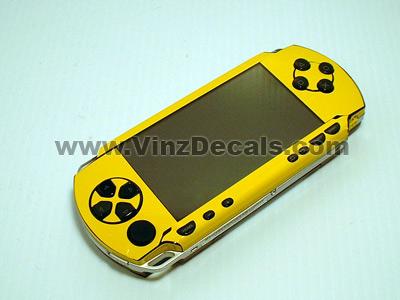 Sony PSP Skin (Yellow)