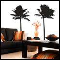 Vinyl Wall Decor - Palm Trees