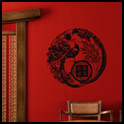 Vinyl Wall Decor - Asian Birds