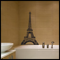 Vinyl Wall Decor - Eiffel Tower Medium