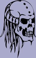 Skull 99 Decal