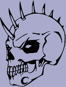 Spiked Skull 98 Decal