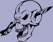 Sword Skull 93 Decal