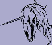 Unicorn Skull 88 Decal