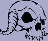 Skull 86 Decal