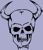 Skull 85 Decal