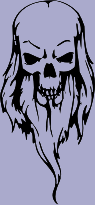 Bearded Skull 83 Decal