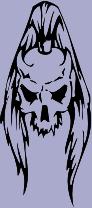 Skull 74 Decal