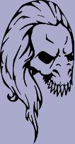 Skull 72 Decal