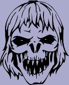 Skull 71 Decal