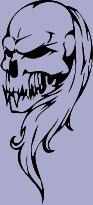 Skull 68 Decal