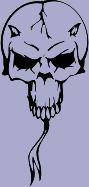 Skull 64 Decal