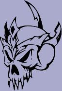 Skull 61 Decal