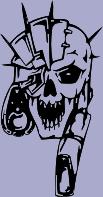 Skull 56 Decal