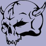 Skull 50 Decal