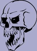 Skull 47 Decal