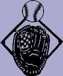 Sports Decal 4 - Baseball Mitt and Ball
