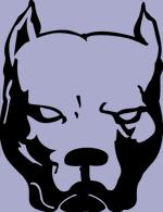 Pitbull Dog Face Decal